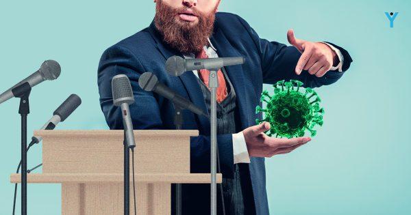 kornavirus es politikai kommunikacio